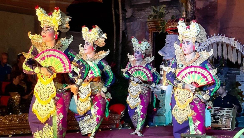 Tradičný tanec Legong na Bali
